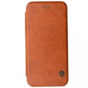 Husa iPhone 6s Plus Nillkin Qin Flip Cover Piele Brown
