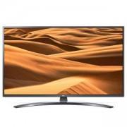 Телевизор LG 49UM7400PLB, 49 инча 4K UltraHD TV, IPS 4K Display (3840 x 2160), DVB-T2/C/S2, ThinQ AI, WiFi, 4КActive HDR, Ultra Surround, 49UM7400PLB