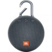 JBL Bluetooth® reproduktor JBL Clip 3 hlasitý odposlech, outdoor, odolná vůči stříkající vodě, modrá