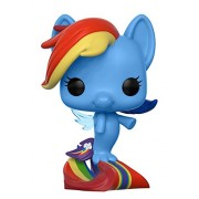 Funko Pop Mlp: My Little Movie-Rainbow Dash Sea Pony (Styles May Vary) Collectible Vinyl Figure