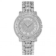 Jack-F Iced Out Reloj Hip Hop para hombre Bling Bling