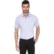 Dudlind Men Formal Half Sleeve Regular Fit Shirt Colour Blue | Mens Shirts for Office and Business wear