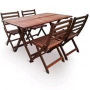 VeGA Dřevěná stolová sestava VeGA SET 4 VeGA SET 4