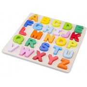 New Classic Toys Puzzle Alphabet Wood Learning Toy