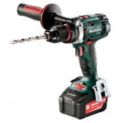 Бормашина акумулаторна, METABO BS 18 LTX IMPULS, 18V, 110Nm, 2x4.0AH (602191500)
