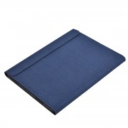 K03 Bluetooth Keyboard PU Leather Cover for iPad Pro 12.9-inch (2018) - Blue
