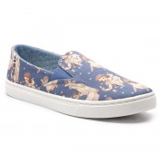 Teniși TOMS - Luca 10012731 Blue Snow White