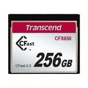 Cartão CFast 256Gb Transcend CFX650 (TS256GCFX650)