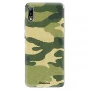 Odolné silikonové pouzdro iSaprio - Green Camuflage 01 - Huawei Y6 2019