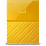 WD My Passport 1TB Portable External Hard Drive (Yellow)