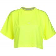 Calvin Klein Puff Print Back Logo Damen T-Shirt gelb neon Gr. XS