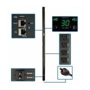 Tripp Lite PDU para Rack Zero U Controlable Monofásico, 30A, 127V, 24 Contactos