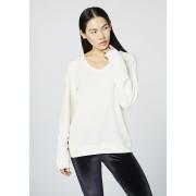 CHIEMSEE Damen T-Shirt Longsleeve BUNDORAN, marshmallow