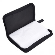 ELECTROPRIME 80 Sleeve CD DVD Wallet Carry Case Holder Bag Wallet Storage Binder Green