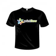 Printflow Compatível: Papel de Transferência para T-Shirt de cor escura A4 (120g 5 Folhas)