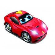 BB Junior Play and Go Ferrari Light and Sound F12 Berlinetta Vehicle (Red)