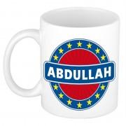 Bellatio Decorations Voornaam Abdullah koffie/thee mok of beker