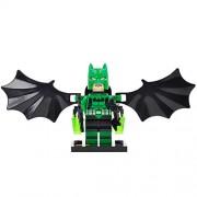 Generic Super Hero Rainbow Batman Figure Set Bat Man DC Superheroes Building Blocks Brick Kits Toys for Children SY295G