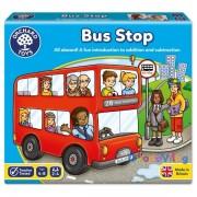 Buszmegálló oktató társasjáték