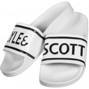 Scott Lyle & Scott Wallace II Herren Badeschuhe weiß Gr. 40,0