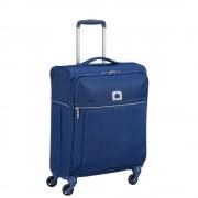 Delsey Brochant 55cm Slim 4-Wheel Cabin Case - Blue