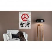 Home24 Afbeelding Soldiers Peace by Banksy, home24 - Meerkleurig