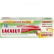 Lacalut Lacalut Aktiv Herbal de 75 ml pastă de dinți + periuță de dinți Duo Clean