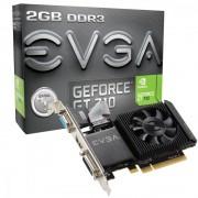 VC, EVGA GT710, 2GB DDR3, 64bit, PCI-E 2.0 (02G-P3-2713-KR)