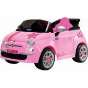 Masinuta Electrica pentru Copii Peg Perego Fiat 500 Star cu 6V Roz