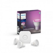 Philips hue white and color ambiance startpaket gu10
