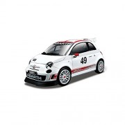 Bburago Abarth 500 Race Assetto Corse Diecast Vehicle 1:24 Scale