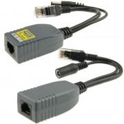 2 stk 904 4 Cores Power Over Ethernet passieve POE Splitter Injector Adapter Kabel Kit voor IP-Camera beveiligingssysteem