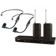 Shure BLX188E/SM35 Sistema sem fio com microfone de cabeça