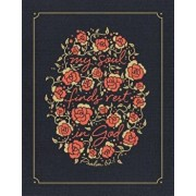 NIV, Journal the Word Bible for Women, Cloth Over Board, Navy, Red Letter Edition, Comfort Print: 500+ Prompts to Encourage Journaling and Reflection, Hardcover/Zondervan