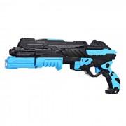 BB pistola pellets agua balas de cristal airsoft - negro + azul