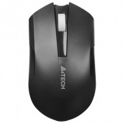 Mouse A4tech, G11-200N, optic, 1000dpi, baterie reincarcabila, Negru