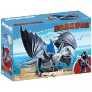 Playmobil Dragons: Drago y dragón con armadura (9248)