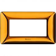Rama ornament 4M auriu lucios Matix Bticino AM4804GOR