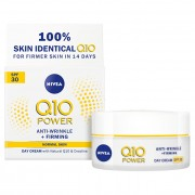 Nivea Zpevňující de Zi Crema antirid Q10 Power SPF 30 (Anti - Wrinkle + Firming Day Cream) de (Anti - Wrinkle + Firming Day Cream) 50 ml