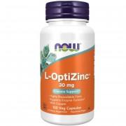 Now Foods L-OptiZinc 30 mg 100 kapsułek