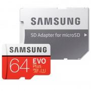 Cartão de Memória MicroSDXC Samsung Evo Plus MB-MC64GA/EU - 64GB