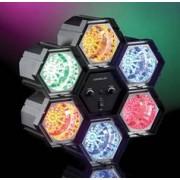 Lunartec Rampe de 6 spots lumineux - 282 LED