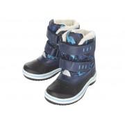 LUPILU® Jongens winterlaarzen maat: 25 t/m 30 (26, Zwart/donkerblauw)