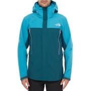 The North Face Men Observatory Jacket Depth Green Enamel Blue Skaljacka Herr