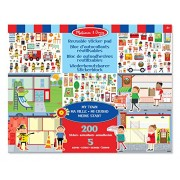 Melissa & Doug 19114 My Town Reusable Sticker Pad by ToyMarket