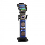 "Auna KaraBig máquina de karaoke Bluetooth LED 7"" TFT CD USB altavoz integrado (KS1-KaraBig)"