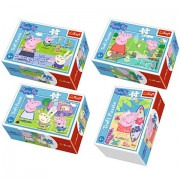 Puzzle Purcelusa Peppa 54 piese