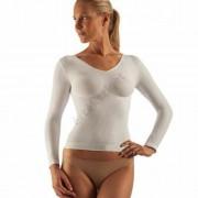 Alakformáló női fitness felső, FarmaCell 143, fehér, XXL
