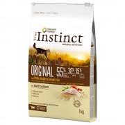 True Instinct ração para gatos 7 kg em promoção: 6 kg + 1 kg grátis! - High Meat frango do campo sem ossos