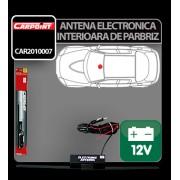 Antena electronica interioara de parbriz Carpoint 12V